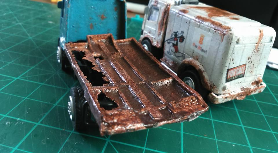 Jude Thomas Trayvilla Dirty Trucks 2