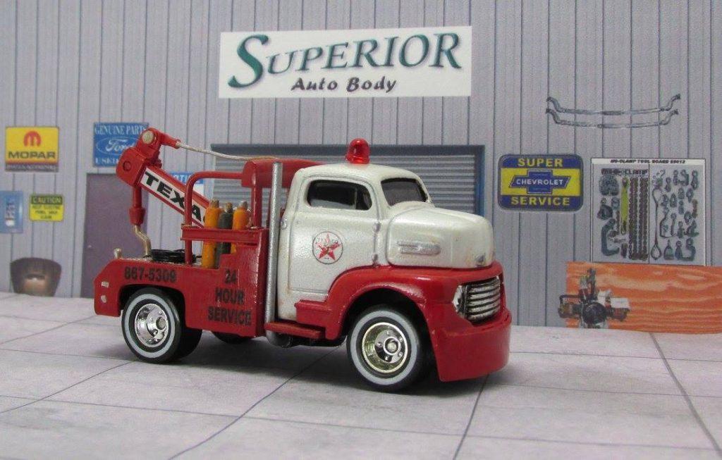 Lloyd Landy - Saints Fan Customs - Texaco Tow Truck 5