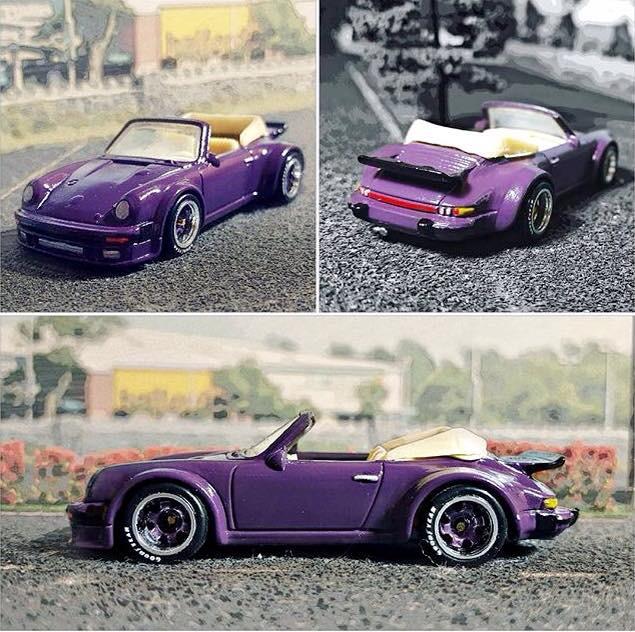 Porsche 911 filter collage 1