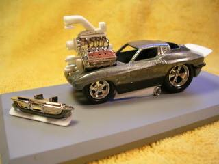 Scott Ridley - blown toon vette WIP