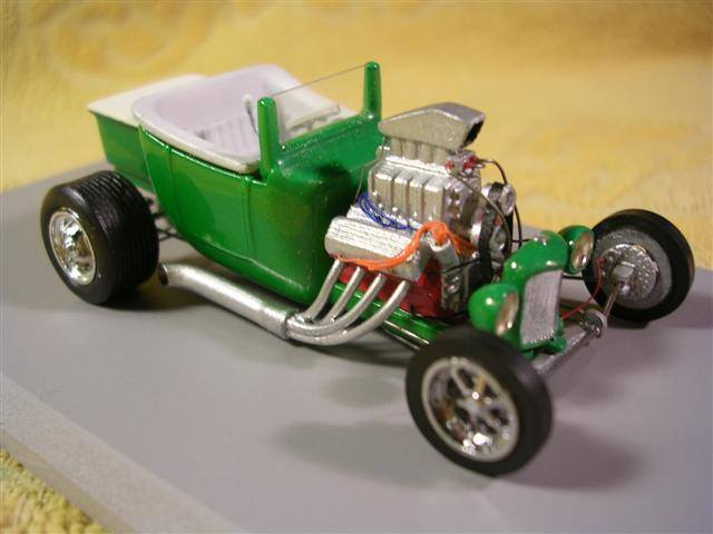 Scott Ridley - incredible hotrod with details 2