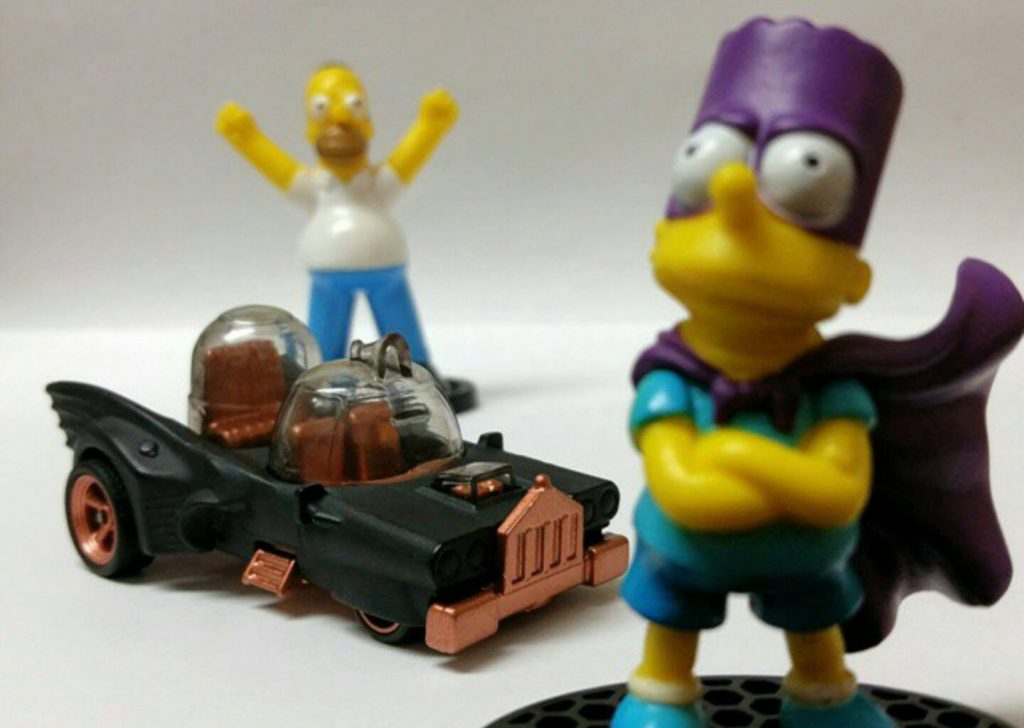 Xavier Puente - Homer Batmobile 2