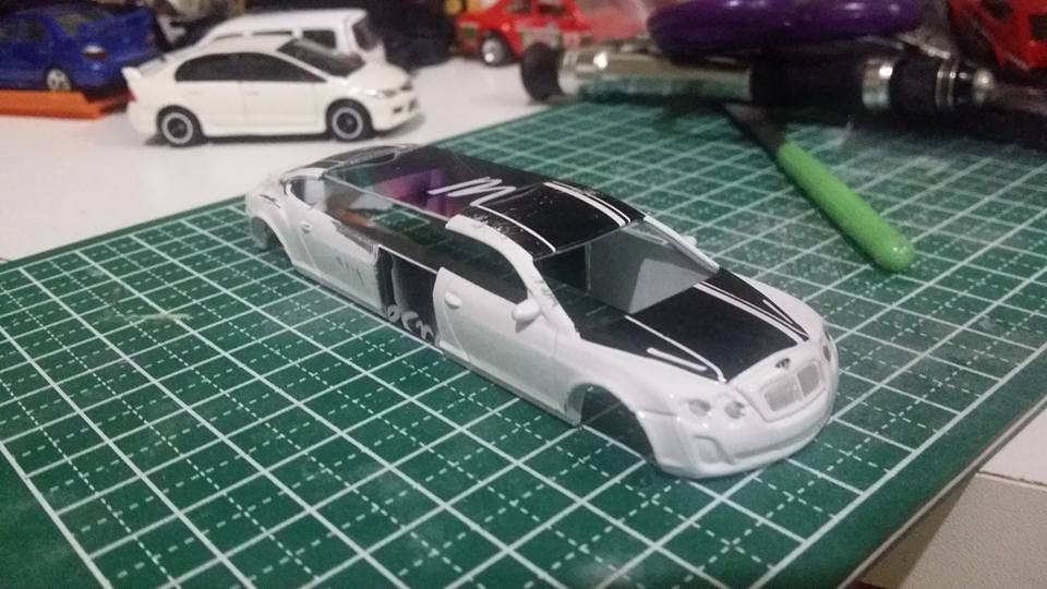 Yazid Ajied - stretch bentley WIP