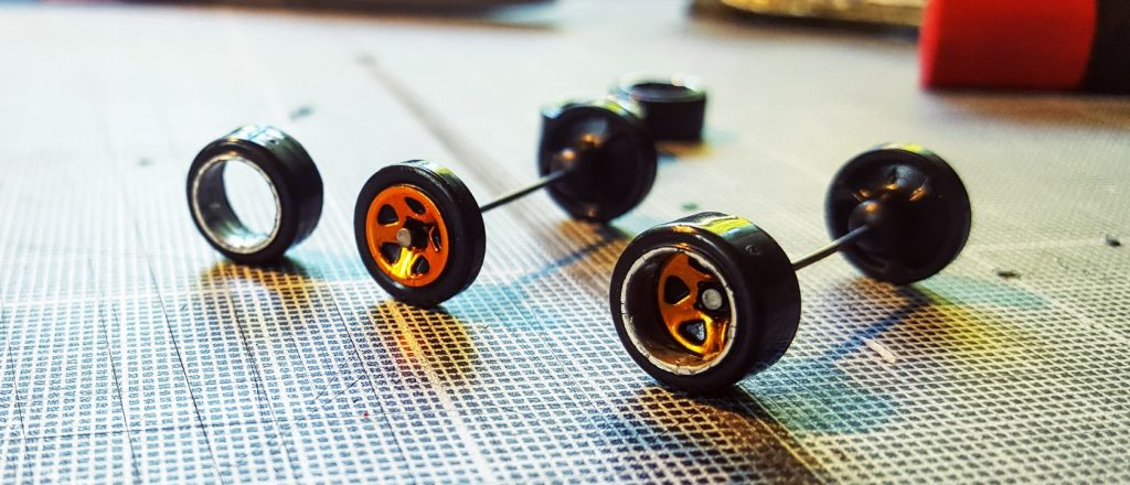 how to make deep dish wheels for hot wheels and diecast cars