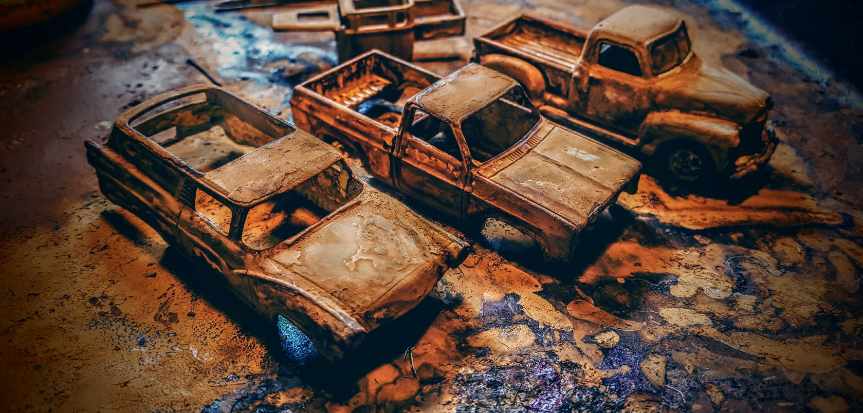 How To Rust Hotwheels & Diecast Cars