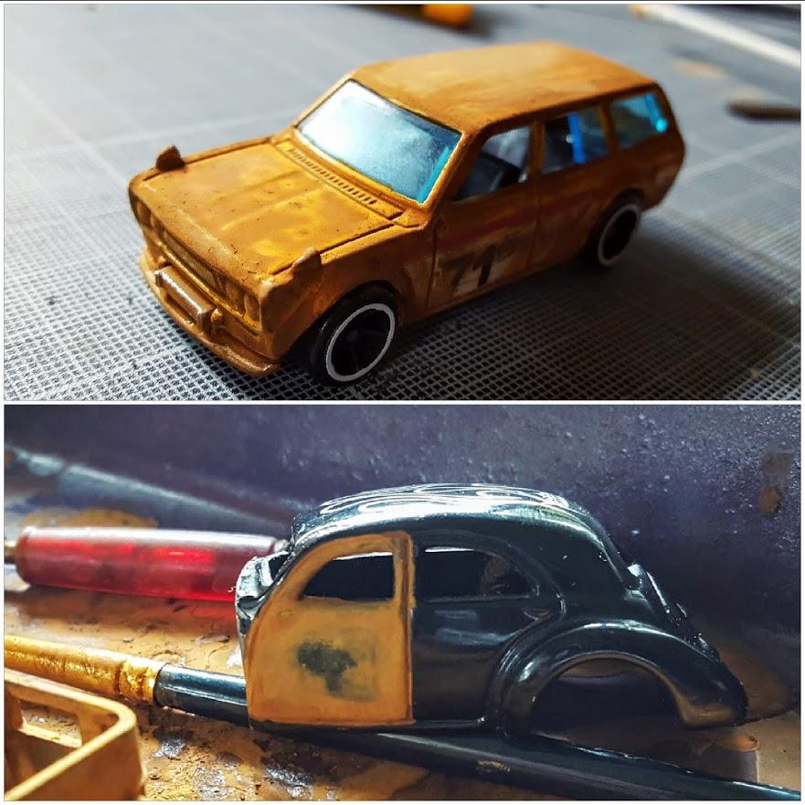 how to rust hot wheels - the next day bonus 2
