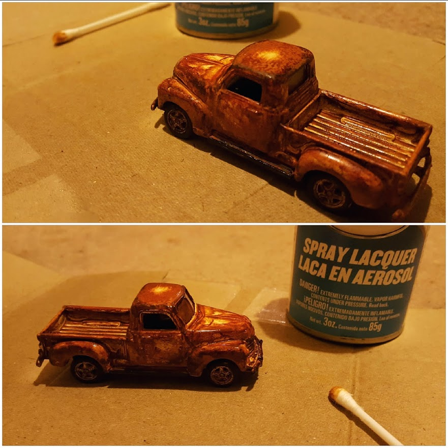 how to seal the rust and finish the job 1