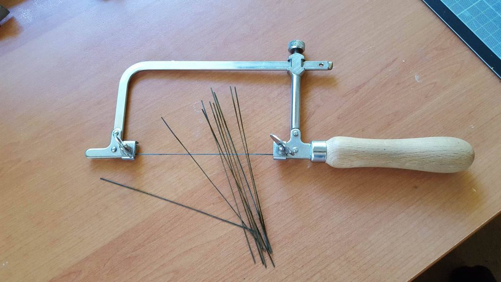 jewellers saw with blades