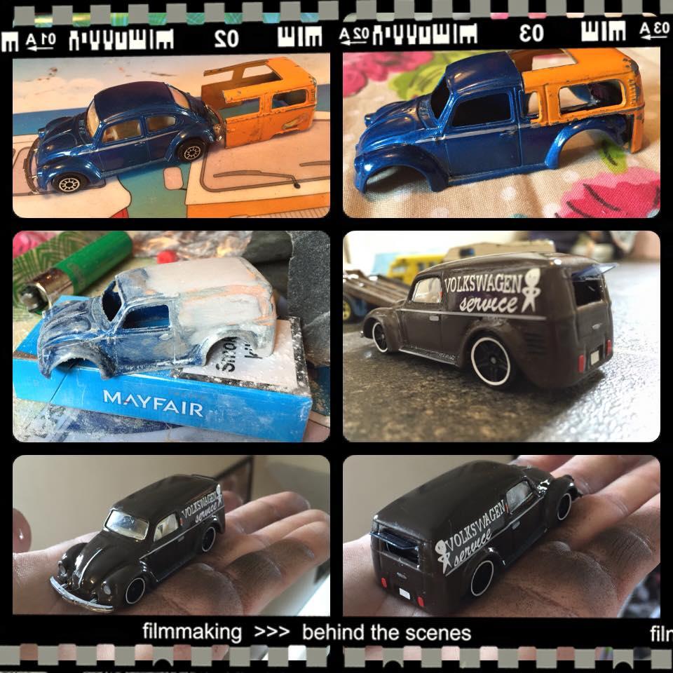 Ben Cherrington VW Van