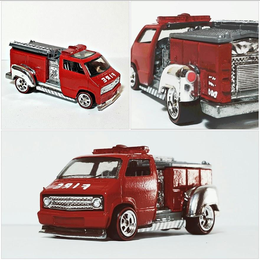 Dodge Van Firetruck collage 1