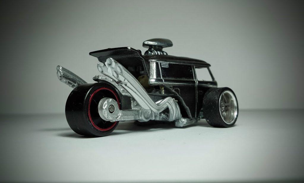 Kool Kombi Trike Dragster custom hot wheels turned logo