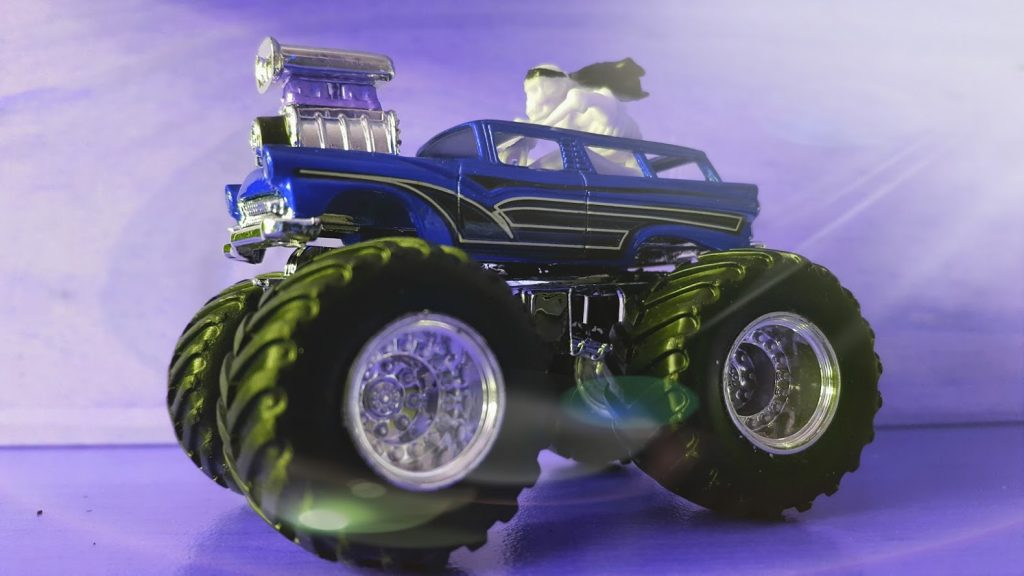 Monster Truck Custom - blue filter