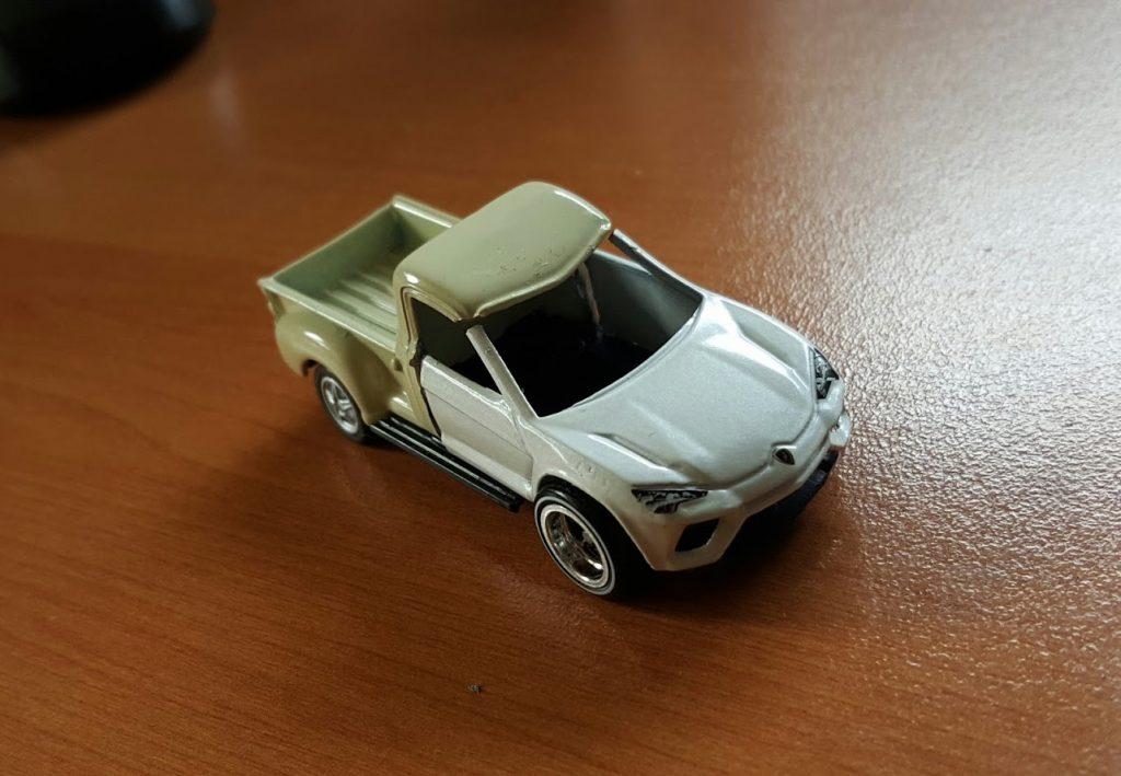 custom puns and diecast cars - the ute urus