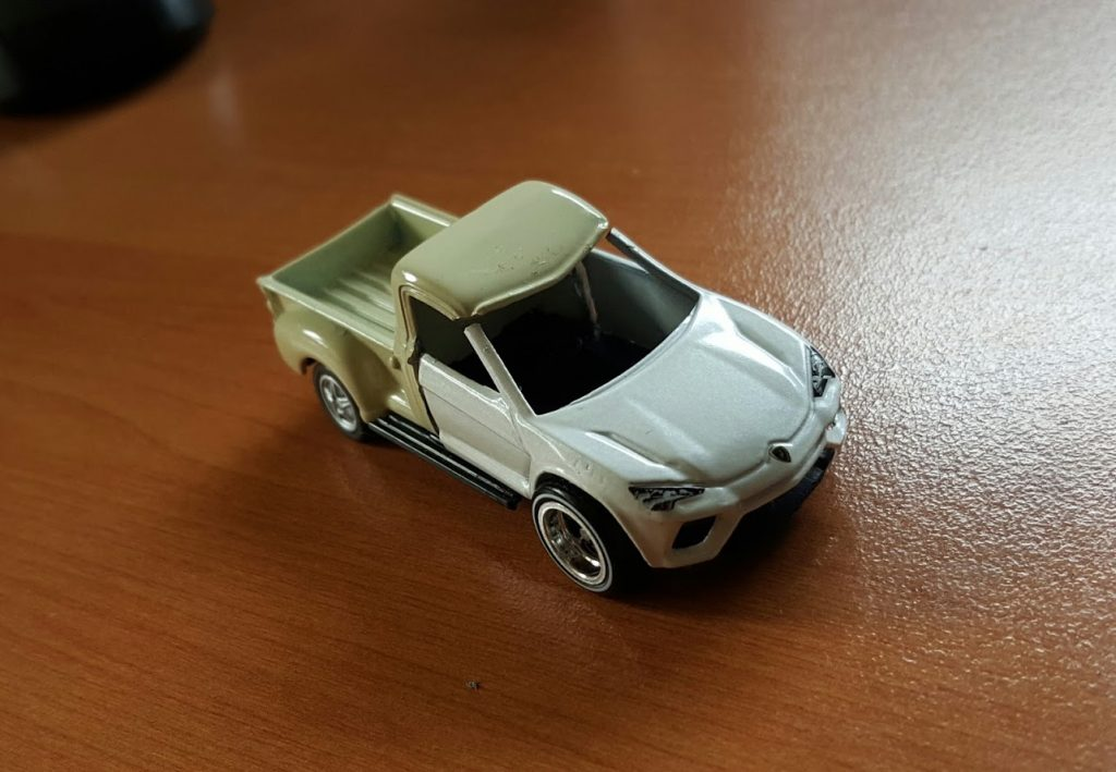 custom puns and diecast cars - the ute urus