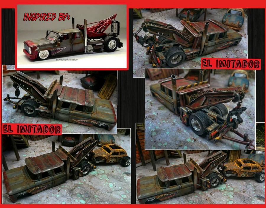 Stanislaus Sawung Garuntara El Imitador collage
