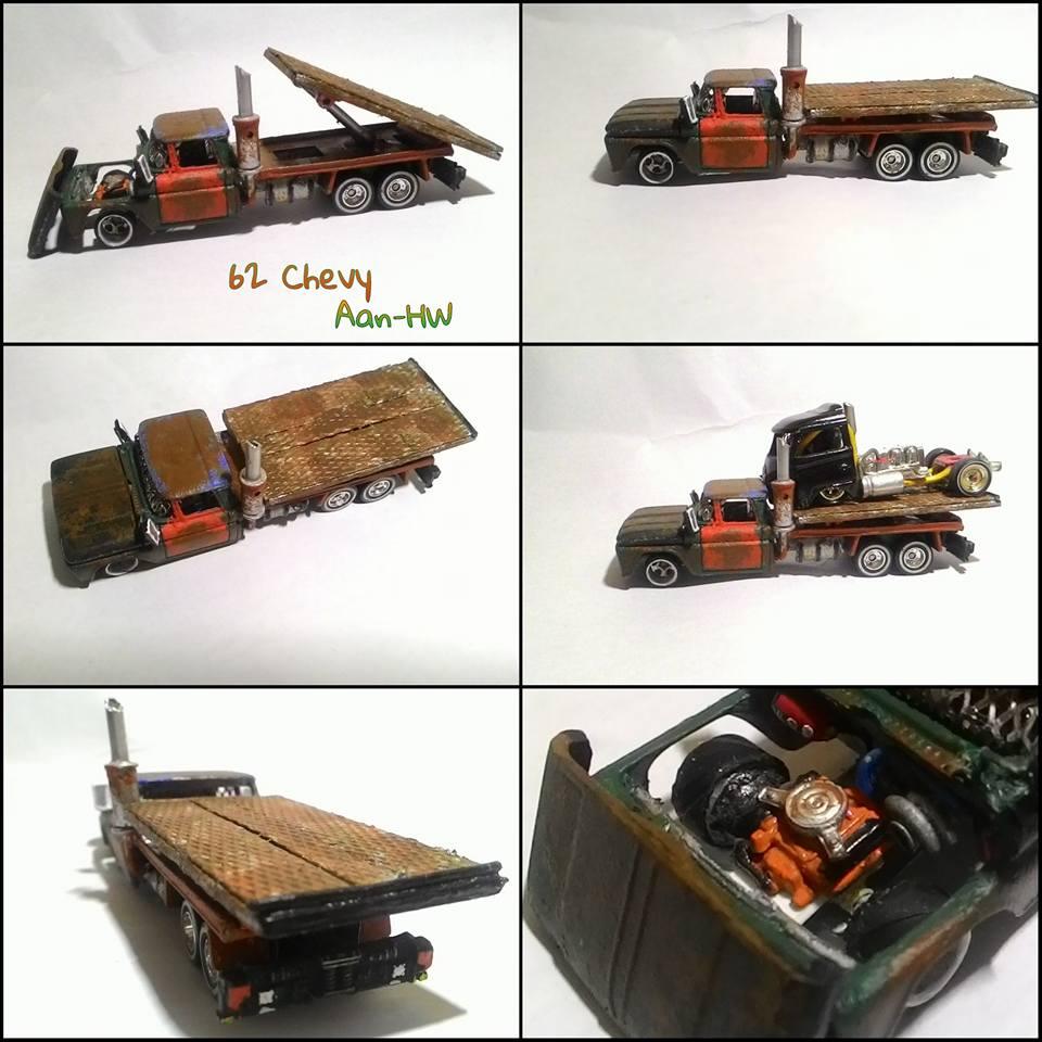 aan HW Crazy custom chevy hauler