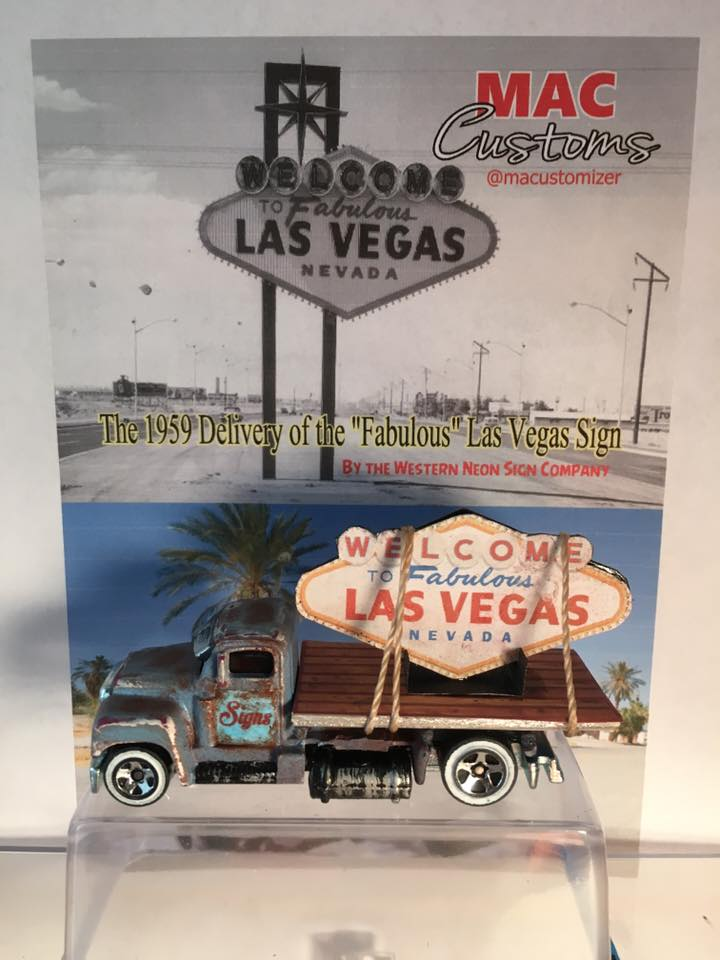 macustomizer Mark Cary Vegas Sign Delivery with card