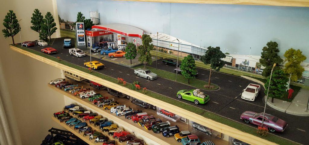 diecast diorama life in 1:64 scale - diorama shelf