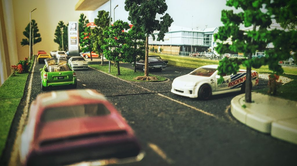 celebrating australia day in 1:64 scale diecast diorama style