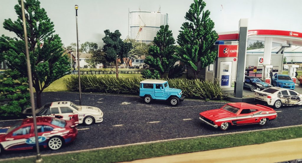 celebrating australia day in 1:64 scale diecast diorama style