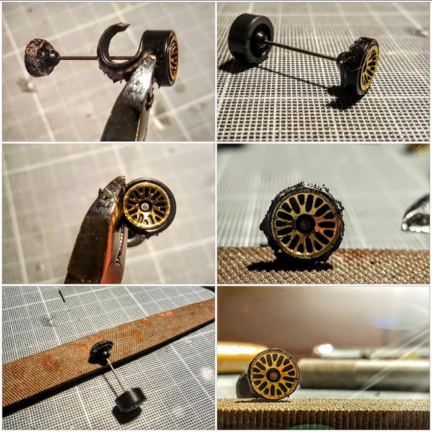 How to make deep dish bbs wheels for hot wheels cars