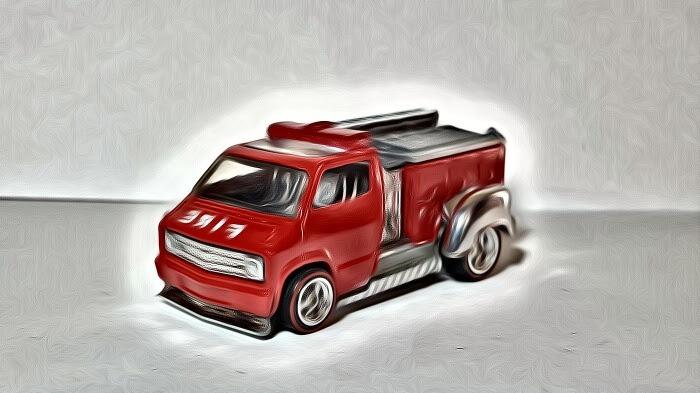 Custom Dodge Firetruck 3
