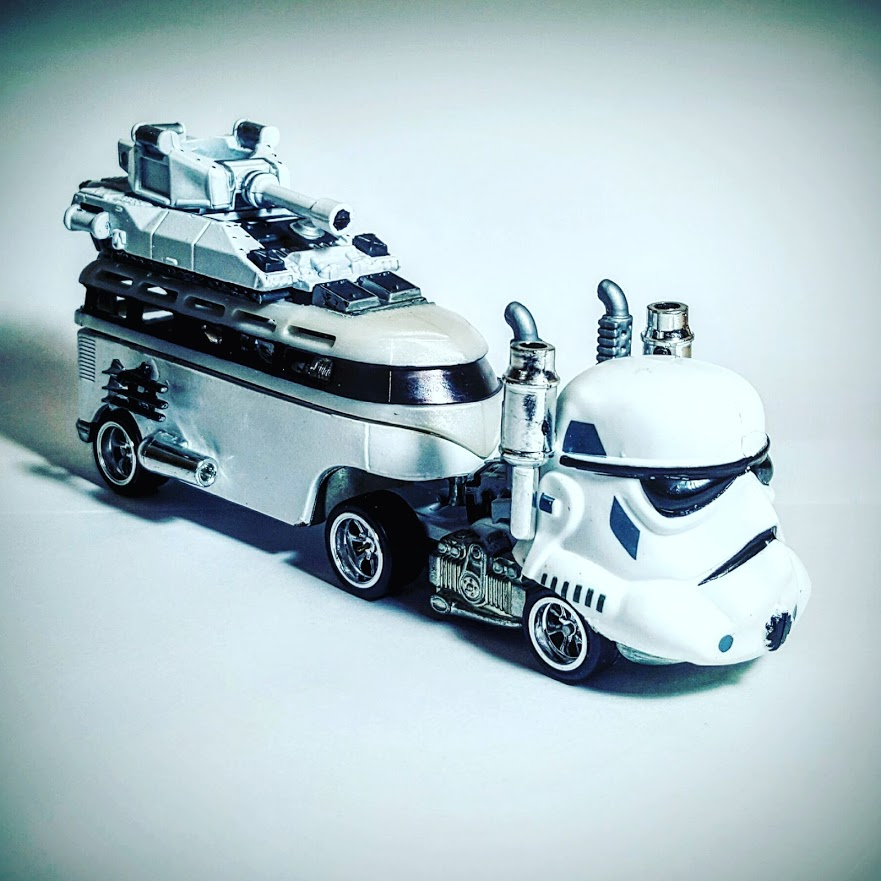 Storm Trooper Custom Hot Wheels 1