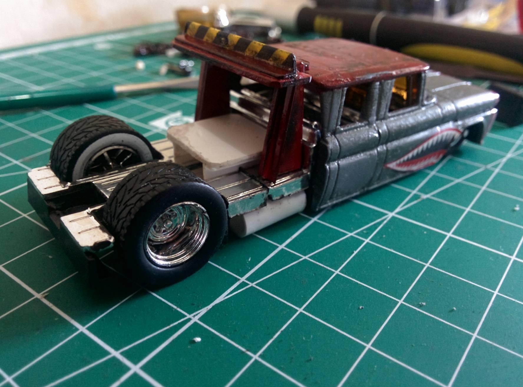 Scale Model Car Detail Parts