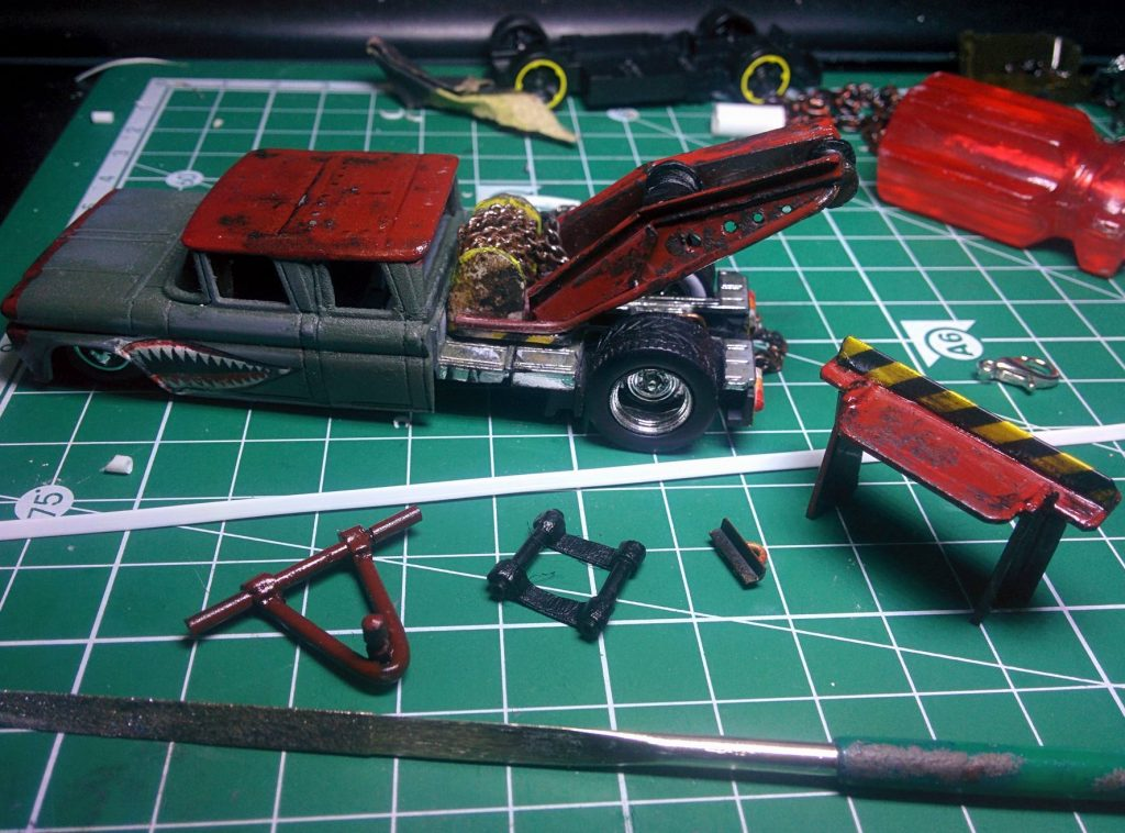 How to Scratch Build Hot Wheels Custom Parts