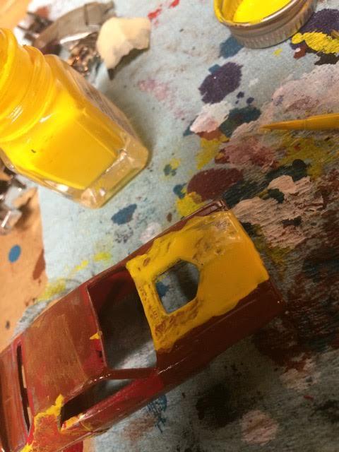How to make Hot Wheels Junkyard Diorama