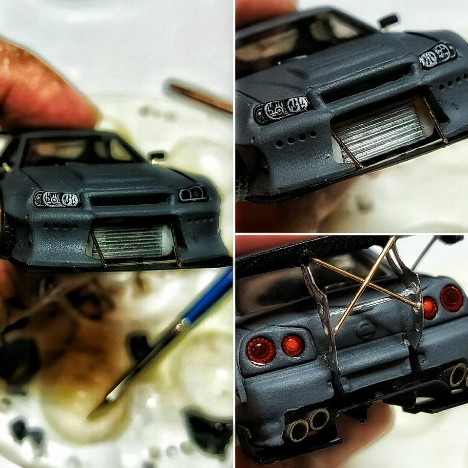 amazing custom work by Pisut Masanong