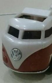custom volkswagen hauler metal stamp logo