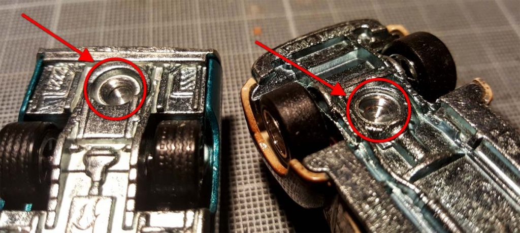 How to take apart and customize hot wheels metal bases