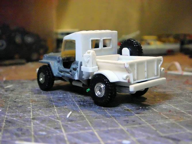 scratch built Hot Wheels parts by Hadi Rochmansyah Jeep 1