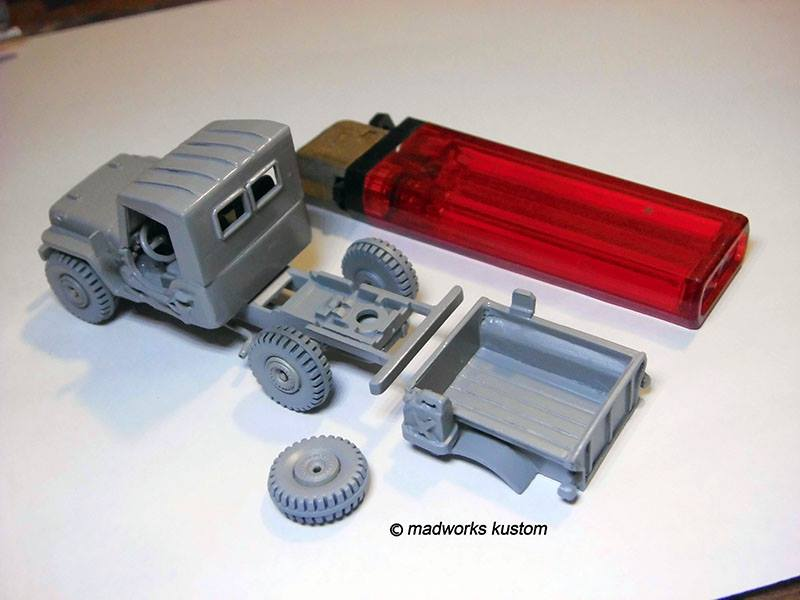 scratch built Hot Wheels parts by Hadi Rochmansyah Jeep 3