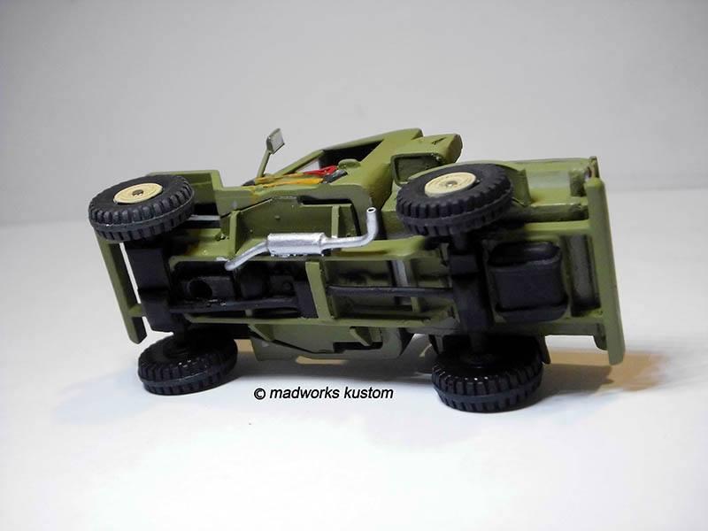 scratch built Hot Wheels parts by Hadi Rochmansyah Jeep 4