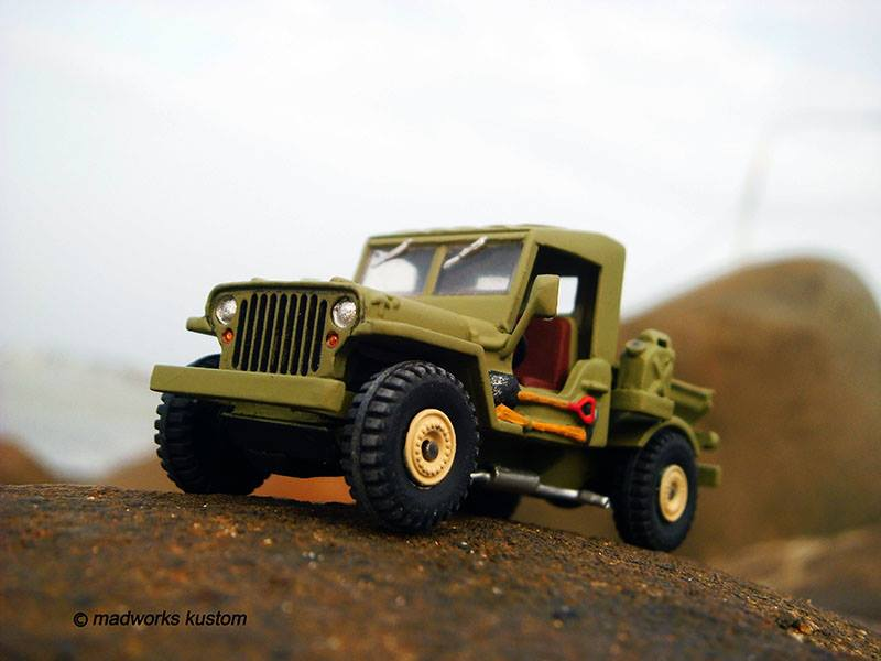 scratch built Hot Wheels parts by Hadi Rochmansyah Jeep 5
