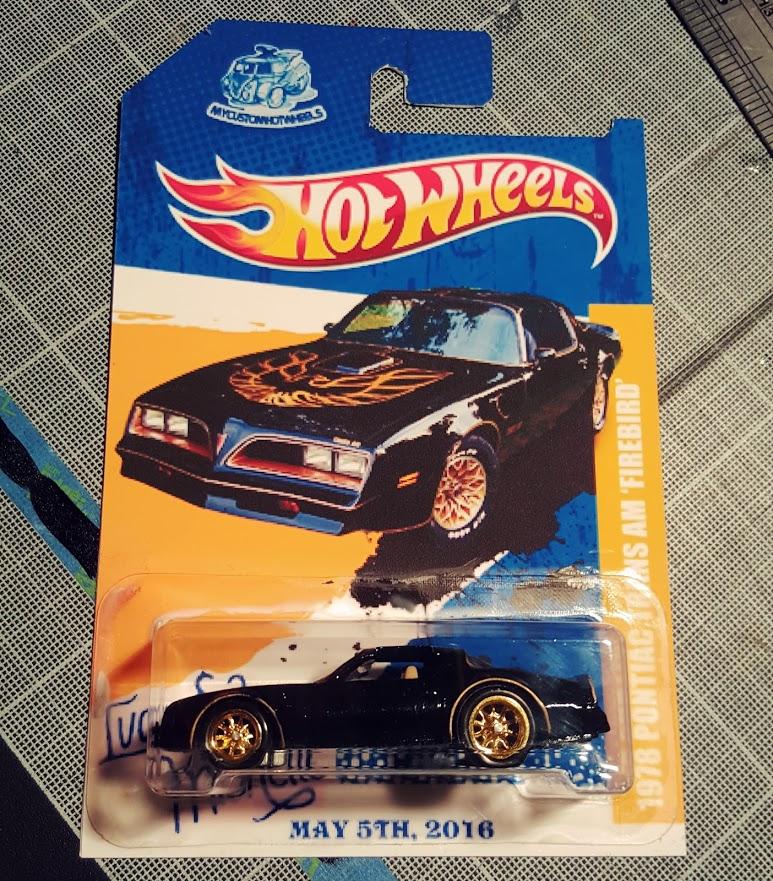 Custom Hot Wheels 1978 Pontiac Trans Am Firebird