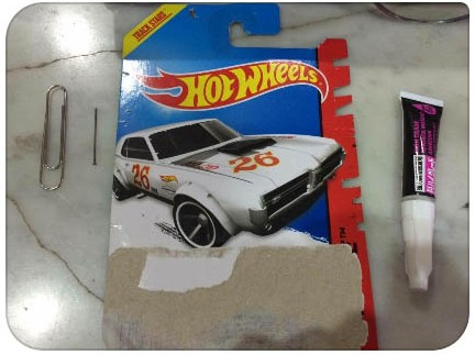 How to Make side mirrors for Hot Wheels cars