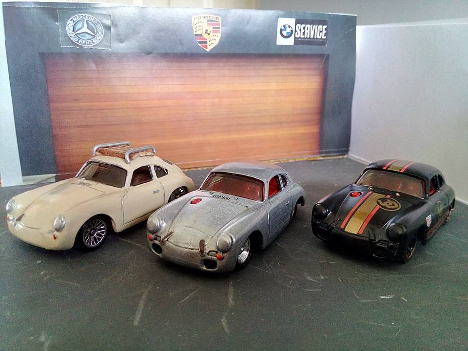 Francisco Espinoza Porsche 356B set