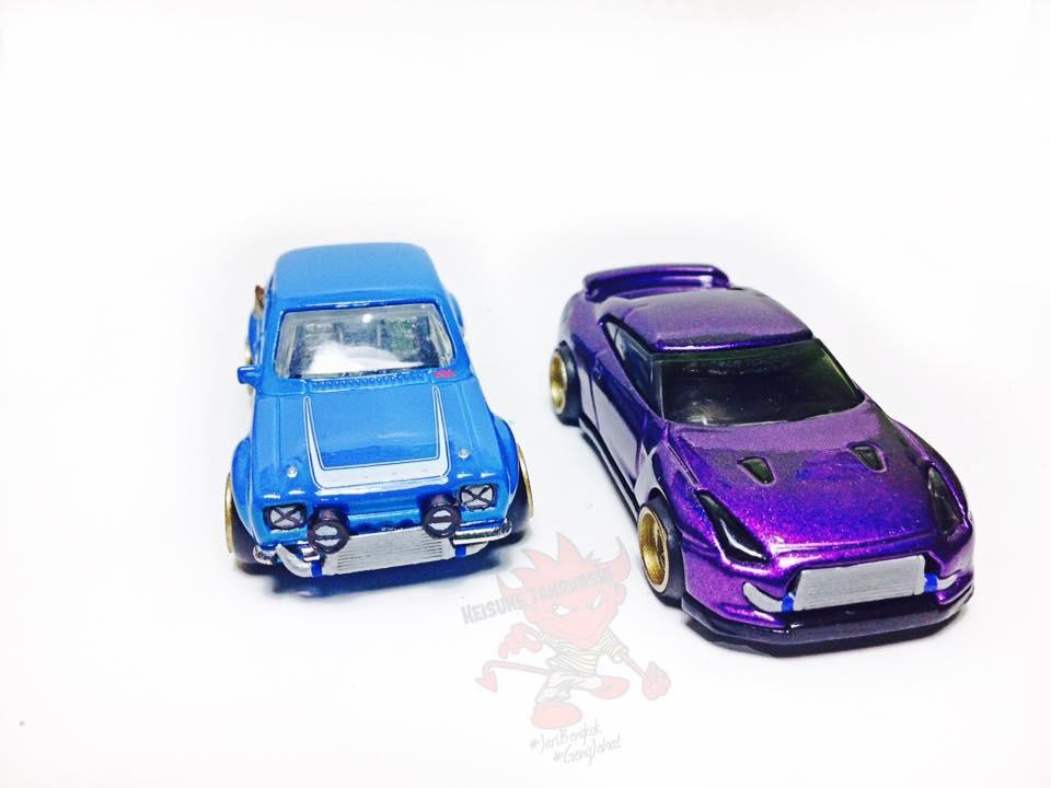 Keisuke Takahashi R35 and Escort customs