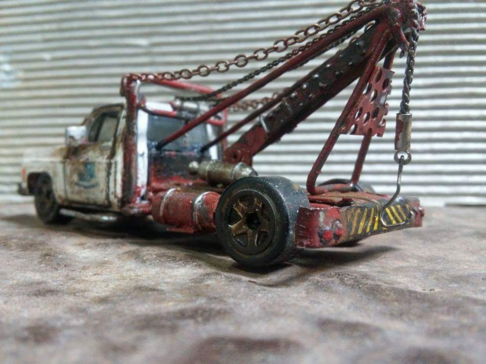 My Custom Hot Wheels tribute tow truck