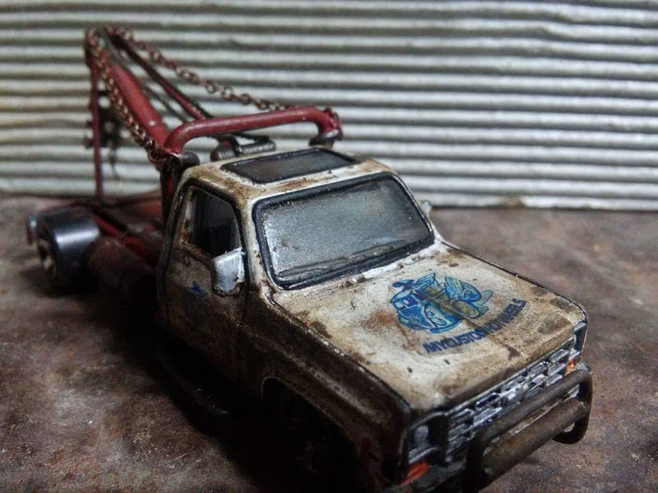 My Custom Hot Wheels tribute tow truck