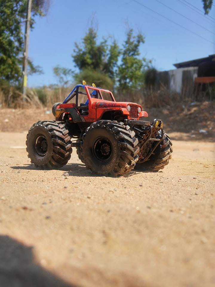 Sharon Tarshish Monster Jeep 1