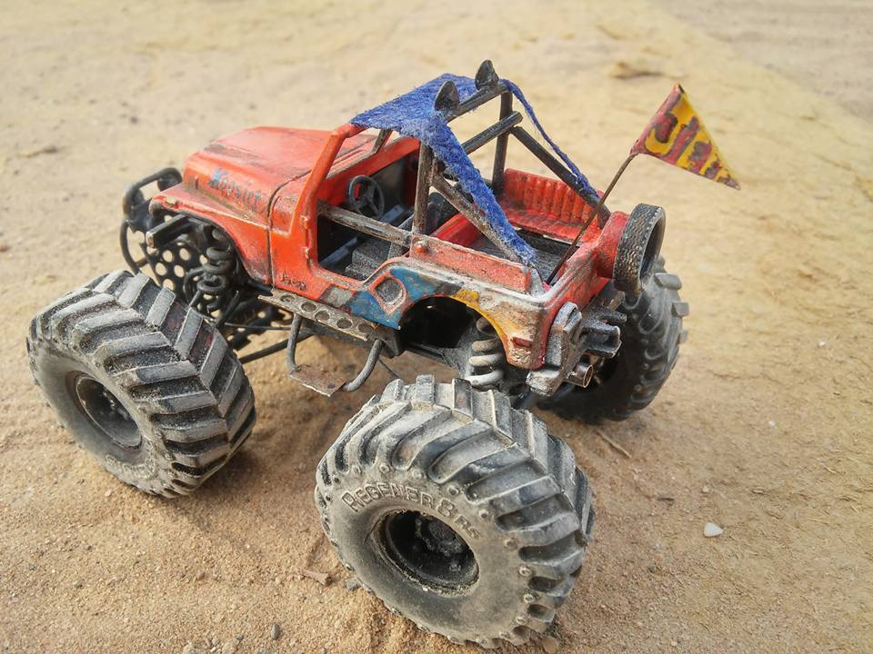 Sharon Tarshish Monster Jeep 2