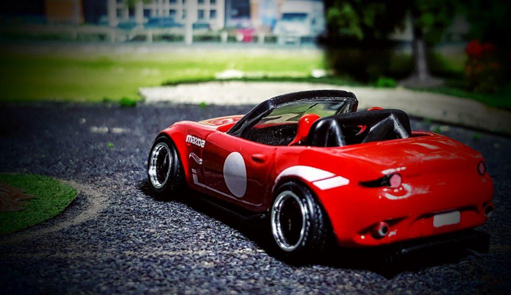 stanced mazda miata mx5 custom hot wheels car