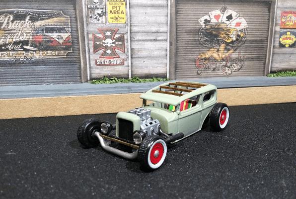 Tom7Woody-custom-hotwheels Ratrod Top 5 custom comp winner