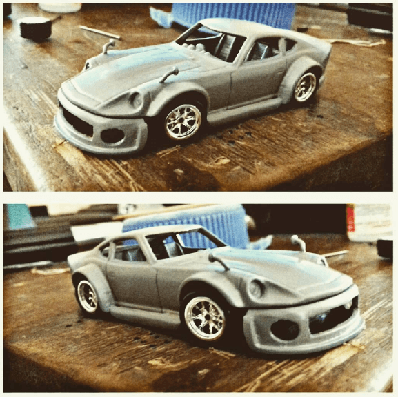 hugoguillen1 body kitted fairlady Z