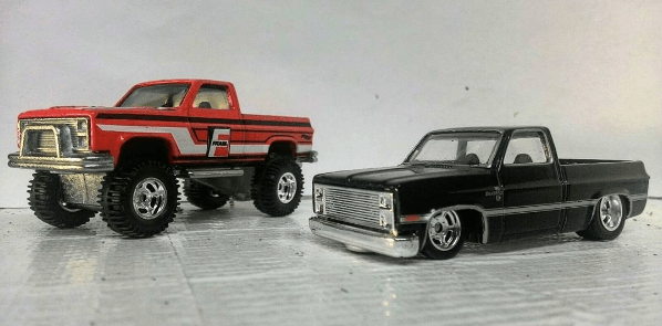 hwc-lara high and low chevy set