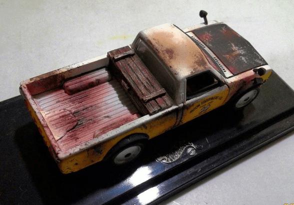 madworxkustom Datsun 620 Mooneyes 1